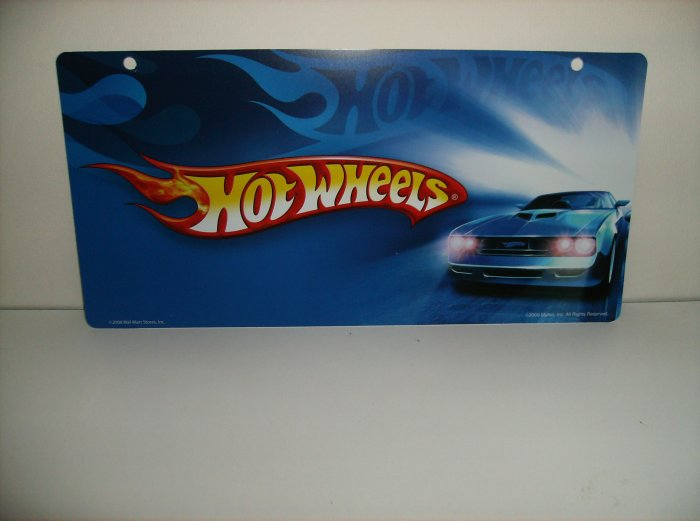Mattel Hot Wheels Display Sign Very Limited