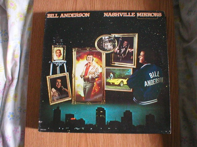Bill Anderson Nashville Mirrors LP