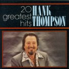 Hank Thompson 20 Greatest Hits CD