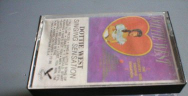 Dottie West Singing Sensation Cassette Tape