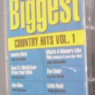 The 80's Biggest Country Hits Volume  1 Cassette Tape