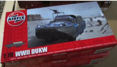 Airfix WWII Dukw 1/76 scale
