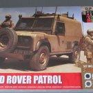 Airfix British Forces Land Rover Patrol w/paint,brush & glue 1/48 scale