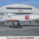Hasegawa Fuji T-1A/B Old Fashioned Combo Limited Edition 1/72 scale