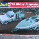 Revell 1965 Chevy Stepside Pickup w/Hemi-Hydro Combo 1/25 scale