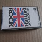 History of British Rock Cassette Tape