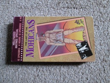 The last of the Mohicans VHS