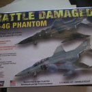 Lindberg F-4G Phantom Battle Damaged 1/72 Scale