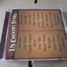 18 country stars cd