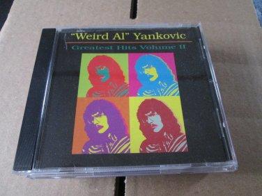 Weird Al Yankovic Greatest Hits Volume II CD