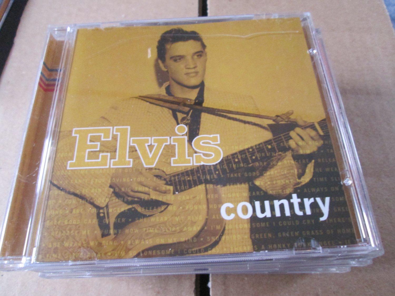 Elvis Presley Elvis Country cd
