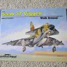Squadron Signal Publications Saab 37 Viggen Walk Around #65055