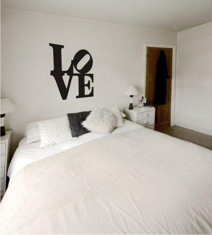 "vinyl wall art LoVE DECAL (20"" x 20"")"