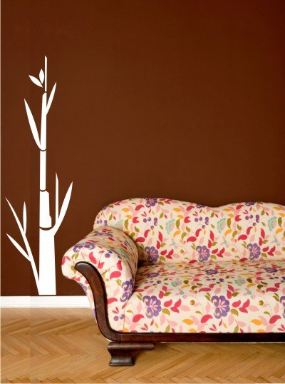 "vinyl wall art decal sticker bamboo tree 17"" x 48"""