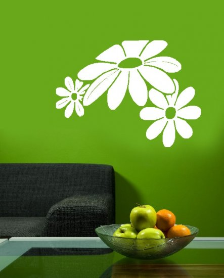 sunflowers vinyl wall art