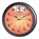 Basketball Design Clock