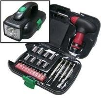 25pc tool kit w light