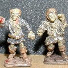 Heritage Models Ghoul & Zombie / 25mm AD&D miniatures