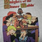 RPG gaming T-shirt Knights of the Dinner Table / size L KODT