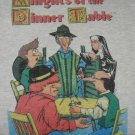 RPG gaming T-shirt Knights of the Dinner Table / size XL KODT