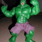 """12"""" large posable Incredible Hulk figure Toy Biz 2003"""