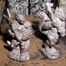 Grenadier x2 Lizard men fantasy lords lead AD&D gaming lizardman figures 25mm