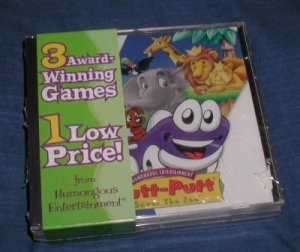 Putt Putt saves the Zoo + Freddy Fish & Pajama Sam NIS software set
