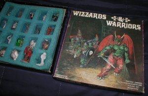 Grenadier Wizzards & Warriors W02 Monsters set in box