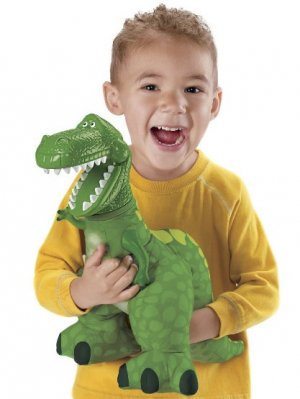 (OUT OF STOCK) Disney Toy Story 3 BIG ROARIN REX Plush Dinosaur