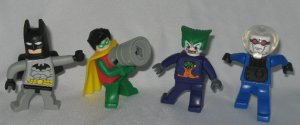 Mcdonalds Batman Lego video game Batman Robin Freeze Joker