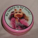 vintage Miss Piggy Hallmark tin My Beauty is My Curse muppets