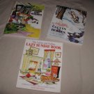 Calvin & Hobbes x3 books Lazy Sunday Authoritative Essential