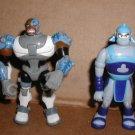 Cyborg & Thunder Teen Titans 4 inch action figures