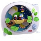 Fisher Price FLUTTERBYE DREAMS birds nest baby crib PROJECTOR