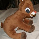Rudolph the red-nosed Reindeer musical plush toy LN
