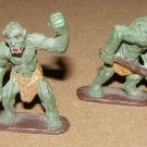 Ral Partha classic painted green Trolls 25mm D&D figures
