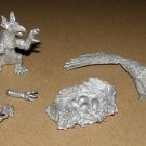 Dragontooth MB6 Griffon with Nest, Eggs, Griffin Chick vintage dungeon figure