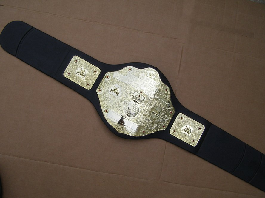 WWE WWF World Heavy weight Wrestling Champion toy belt 2003 jakks pacific EXC