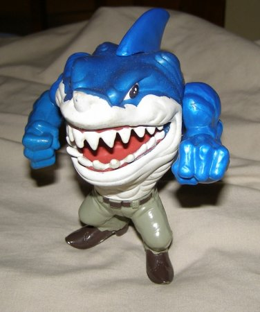 Mattel Street Sharks Ripster figure EXC!