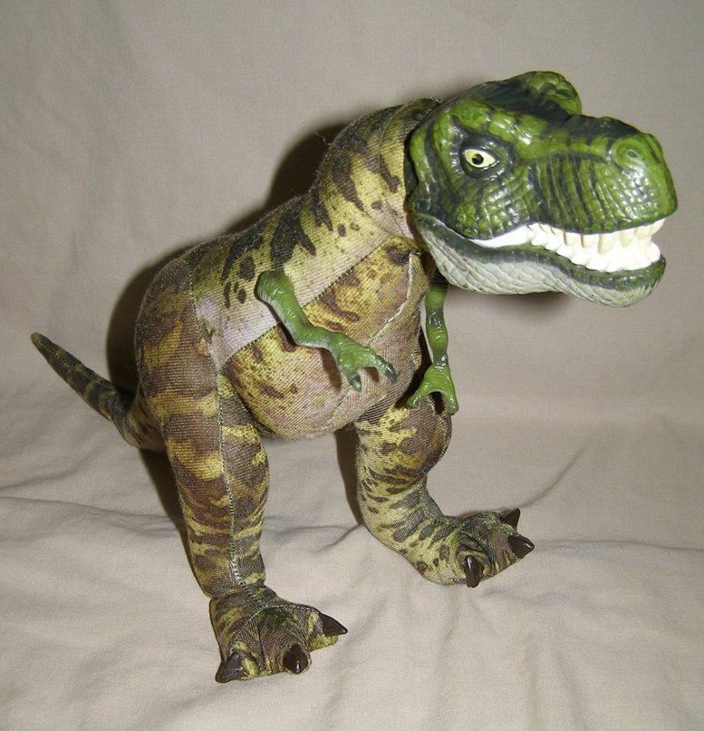 Jurassic Park Lost World plush T-rex tyrannosaurus dinosaur exc