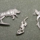 Ral Partha Goblin wolf riders vintage D&D lead LOTR Warg figures MINT