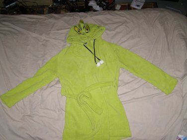 "Grinch who Stole Christmas child's bathrobe 32"" 3-5"