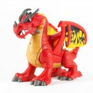 IMAGINEXT Deluxe large red Castle Dragon w/ action & sounds