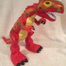 Fisher Price Imaginext electronic Mega T-rex orange dinosaur