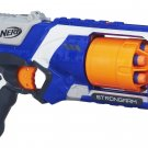 NERF Strongarm foam dart pistol - blue or white