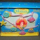 Little Mermaid Vinyl Jewelry Set 1991 Disney MIB