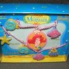 Little Mermaid Vinyl Jewelry Set 1991 Disney MIB