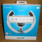 Power-A Wii U Controller Mario Kart 8 Racing Wheel NEW