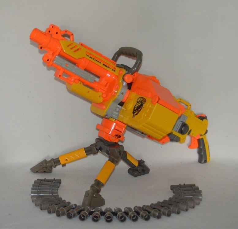 Nerf N-Strike Vulcan EBF-25 Dart Blaster Gun