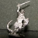 TSR Lizardman rare 25mm D&D gaming miniature lead